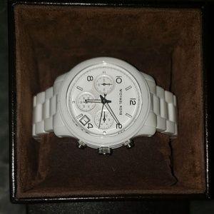 Michael Kors Accessories - Michael Kors MK5161 Ceramic Runway watch - NEW!